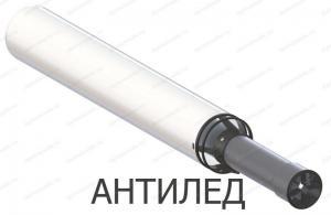 труба коаксиальная 60x100-750 с наконечником для газового котла