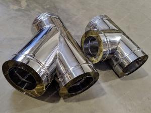 Производим эндвичные тройники 400x480 мм из нержавеющей стали