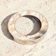 Заглушка кольцевая 400x430 мм для дымохода из нержавейки и оцинковки