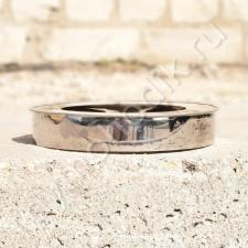 Кольцевая заглушка диаметром 450x530 мм для дымохода из нержавеющей и оцинкованной стали