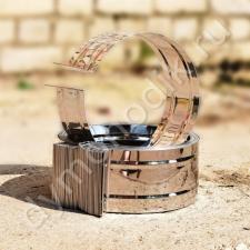 Хомут обжимной 450 мм для дымохода