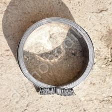 Хомут обжимной из нержавеющей стали диаметром 530 мм для дымоходов