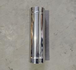 Труба одностенная 500 мм для дымохода