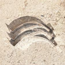 Хомут под растяжку 550 мм из нержавейки