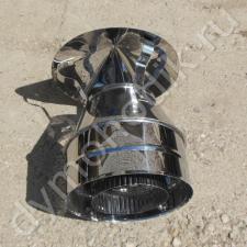 Купить оголовок 80x150 мм для защиты дымохода
