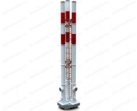 Дымовая труба 30 м трехствольная самонесущая, купите по цене производителя