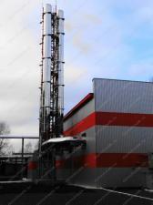 Купить ферму дымовой трубы высотой 20 м, цена от производителя