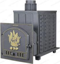 Купить Гефест ПБ-02 ЗК  (М, М, МС, П, ПС) с закрытой каменкой - печь для русской бани