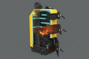 Купите котел-полуавтомат Pereko KSW Master 20 кВт, работающий на дровах, угле, брикетах