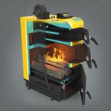 Купите котел-полуавтомат Pereko KSW Prima 15 кВт, работающий на дровах, угле, брикетах