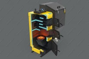 Купите Pereko KSR Beta Plus 70 кВт угольный автоматический котел с ретортной поворотной горелкой
