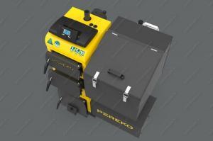Универсальный котел Pereko KSP Duo 50 кВт, работает на пеллетах и угле