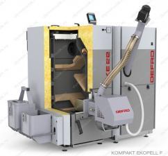 Пеллетный автоматический котел Defro Kompakt Eko Pell 50 кВт с автоподжигом и золоудалением