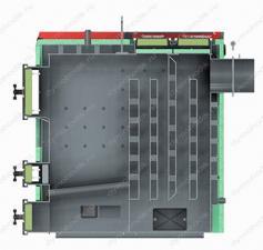 Промышленный полуавтоматический котел Defro Optima Plus Max 75 кВт