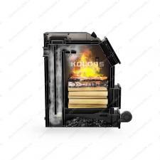 Купите котел-полуавтомат Koloss 45 кВт на угле и дровах длительного горения