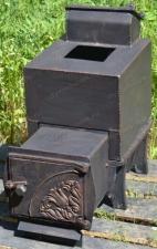 Закажите банную печь с закрытой каменкой Кудесница 14