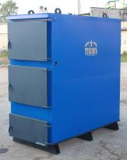 Полуавтоматический котел на твердом топливе Теплов ТА-150 кВт