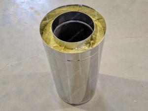 Теплоизолированная труба 150/230 мм для вытяжки