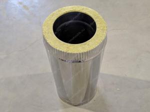 Вентиляционные сэндвичные трубы 150x230 мм
