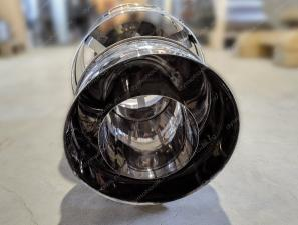 Дефлектор ветровой для дымоходов 500/580 мм из нержавейки