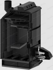 Пеллетный котел Роботоп UPB-15 в разрезе