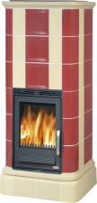 Печь-камин ABX Kaledonie color с теплообменником
