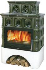 Печь-камин ABX Karelie с теплообменником