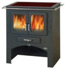 Печь-камин ABX Кухонная плита без духовки (стеклокерамика)