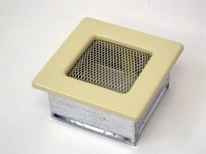 Вентиляционная решетка Kratki 11x11 Бежевая
