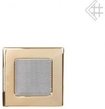 Вентиляционная решетка Kratki 11x11 Полированная латунь