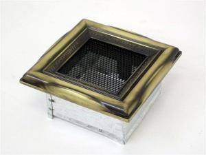 Вентиляционная решетка Kratki 11x11 Рустик
