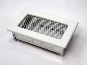 Вентиляционная решетка Kratki 11x17 Белая