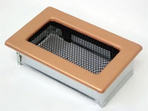 Вентиляционная решетка Kratki 11x17 Гальваника под медь
