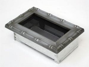 Вентиляционная решетка Kratki 11x17 Диана хром