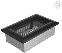Вентиляционная решетка Kratki 11x17 Оскар черная