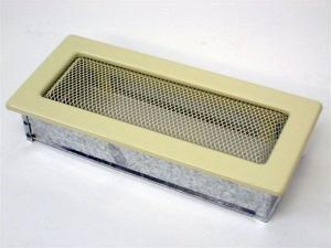 Вентиляционная решетка Kratki 11x24 Бежевая