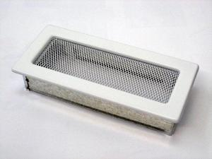 Вентиляционная решетка Kratki 11x24 Белая