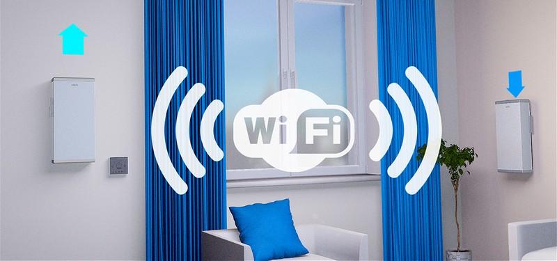 Несколько приборов Вакио можно синхронизировать по Wi-Fi